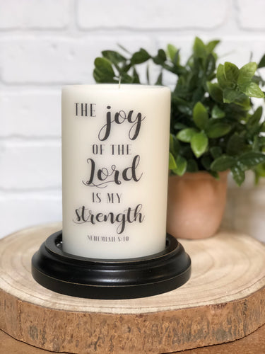 Faith LastingLite Candle Sets & Sleeves