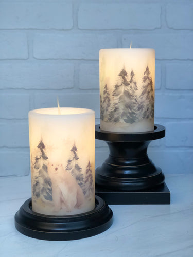 Winter  LastingLite Candle Sets & Sleeves