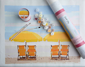 Paint by Number Canvas Kit