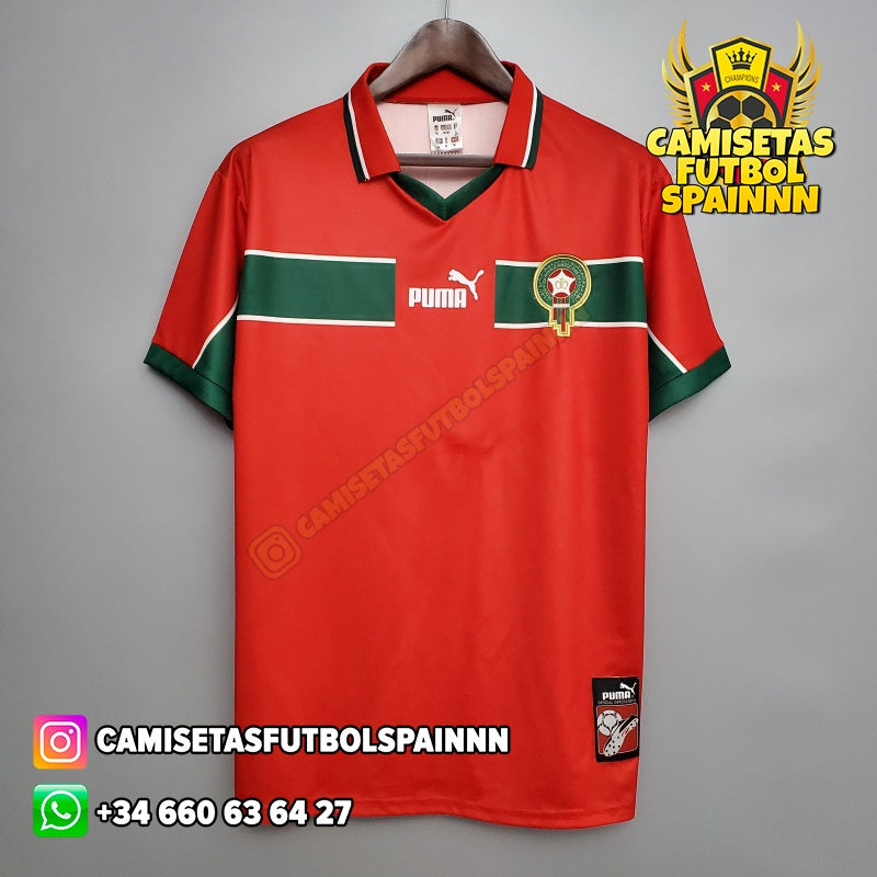 Camiseta Marruecos 1998 Local