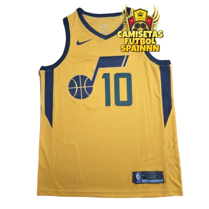 Camiseta Mike Conley 10 Utah Jazz Alternativa