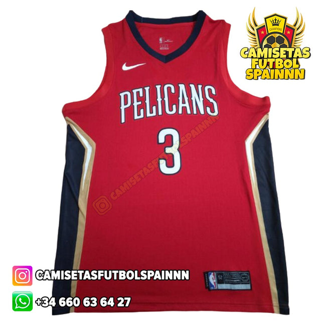 Camiseta Josh Hart 3 New Orleans Pelicans Alternativa