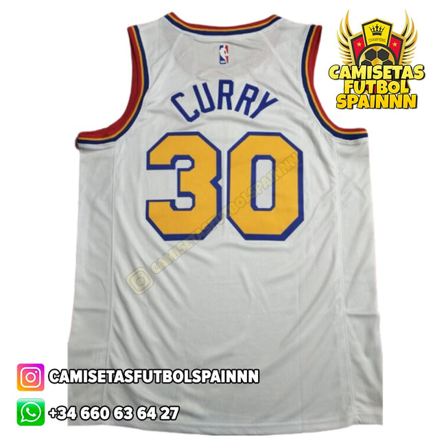 Camiseta Stephen Curry 30 Golden State Warriors Worn City