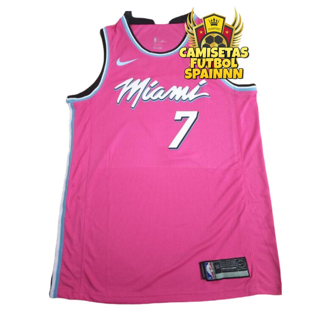 Camiseta Goran Dragic 7 Miami Heat Vice City Alternativa