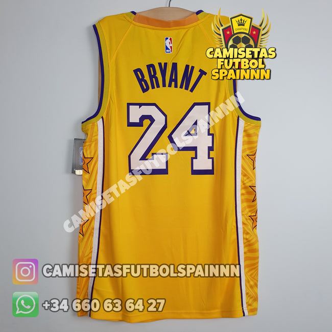 Camiseta Kobe Bryant 24 Los Angeles Lakers Local Christmas Day