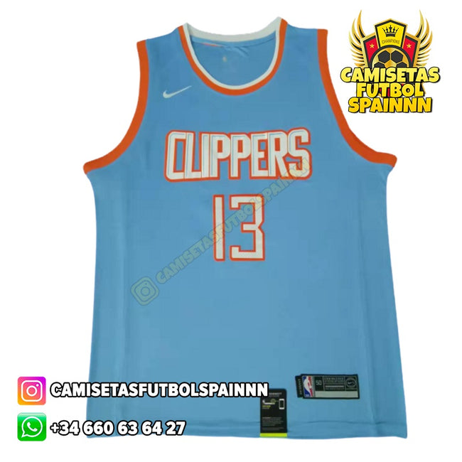 Camiseta Paul George 13 Los Angeles Clippers Icon
