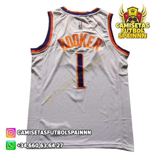 Camiseta Devin Booker 1 Phoenix Suns Local