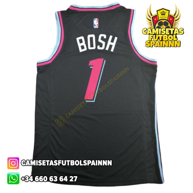 Camiseta Chris Bosh 1 Miami Heat Vice City Local