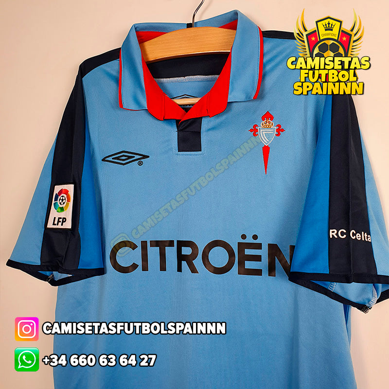 Camiseta Celta 2002-2004 Local