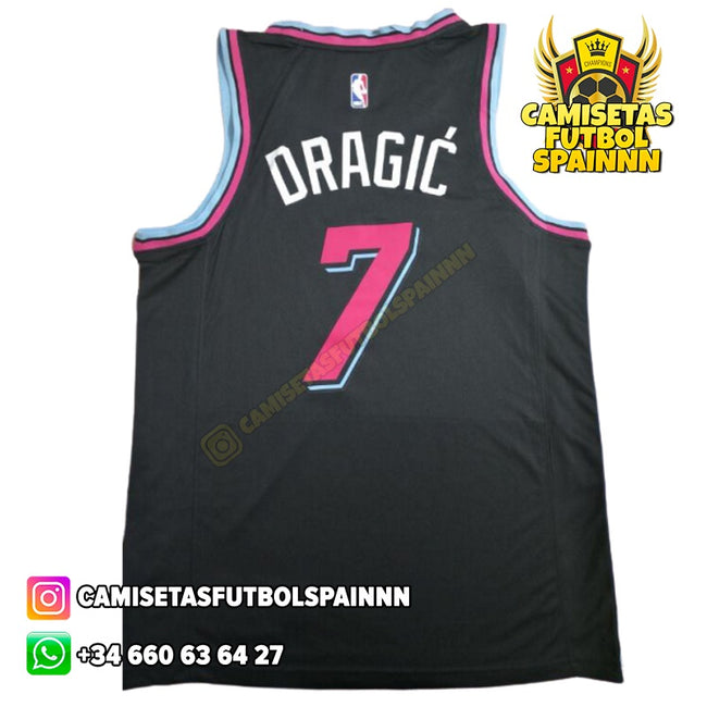 Camiseta Goran Dragic 7 Miami Heat Vice City Local