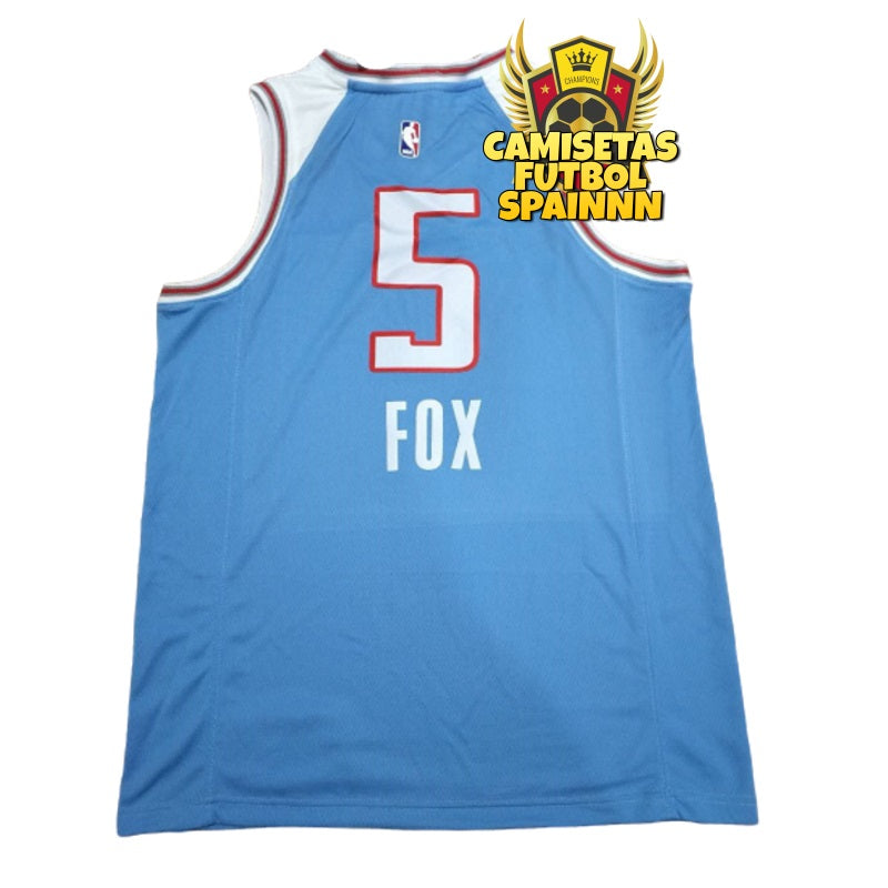 Camiseta De'Aaron Fox 5 Sacramento Kings Statement