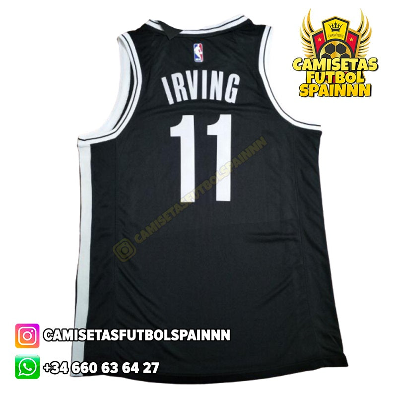 Camiseta Kyrie Irving 11 Brooklyn Nets Local