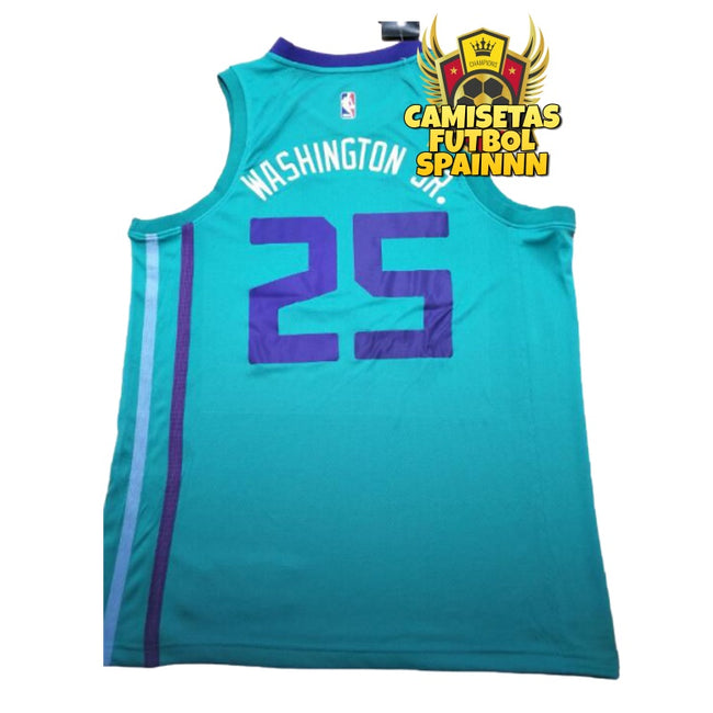 Camiseta Washington JR 25 Charlotte Hornets Local