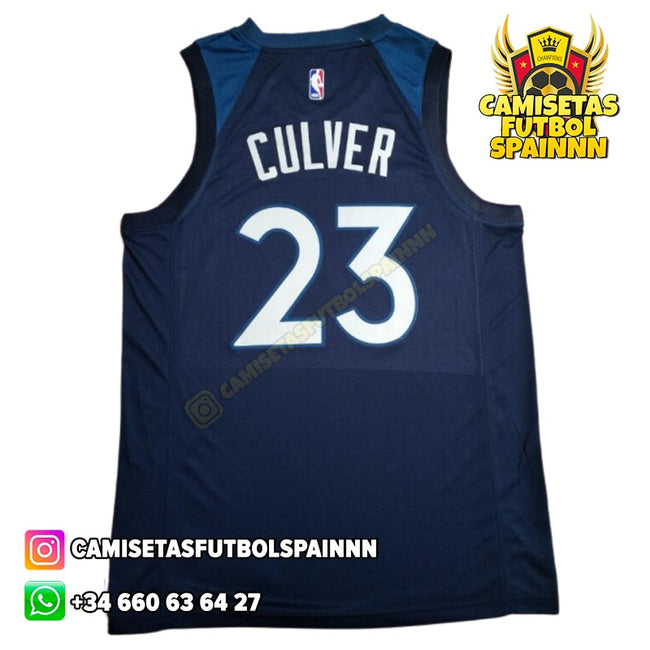 Camiseta Jarrett Culver 23 Minnesota Timberwolves Local