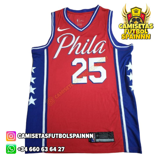 Camiseta Ben Simmons 25 Philadelphia 76ers Alternativa