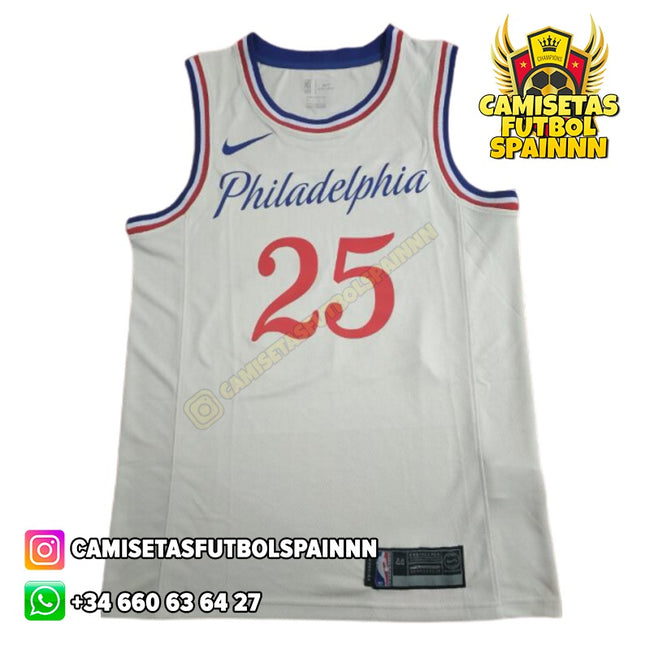 Camiseta Ben Simmons 25 Philadelphia 76ers Statement