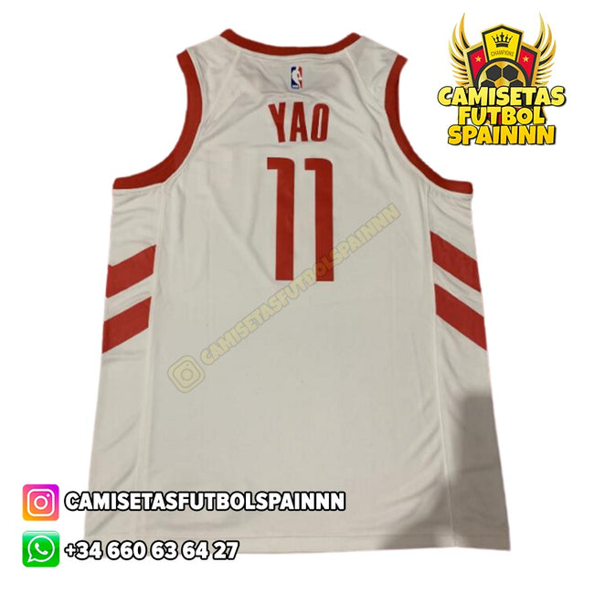 Camiseta Yao Ming 11 Houston Rocket Retro Classic
