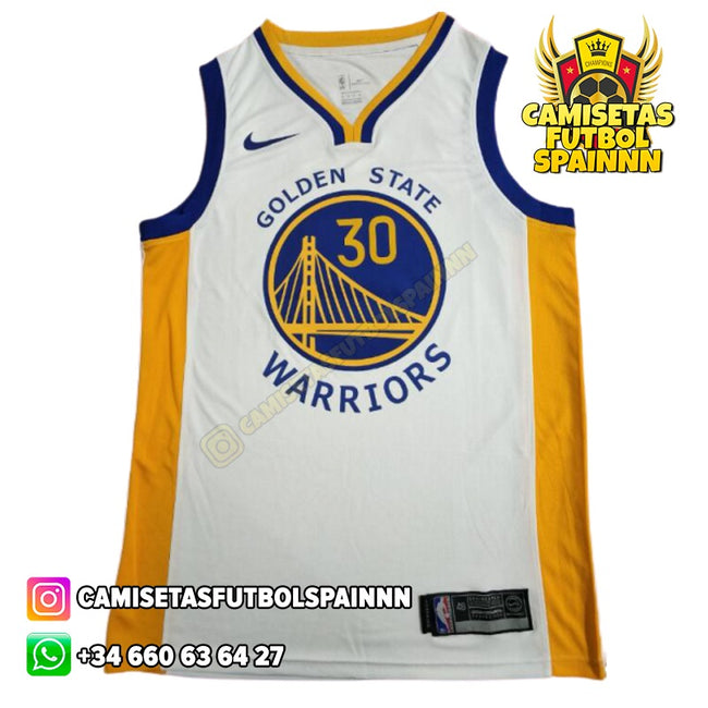 Camiseta Stephen Curry 30 Golden State Warriors Local