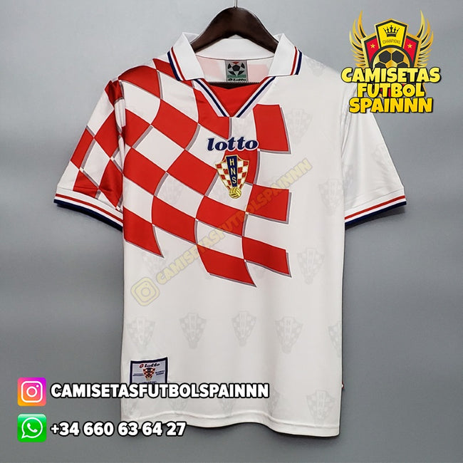 Camiseta Croacia 1998 Local