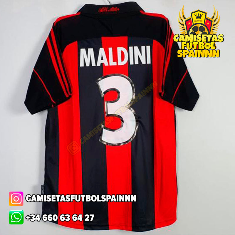Camiseta AC Milan 2000-2002 Local