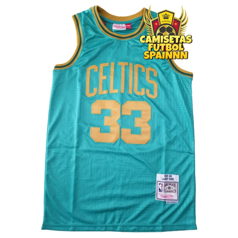 Camiseta Larry Bird 33 Boston Celtics Año de la Rata