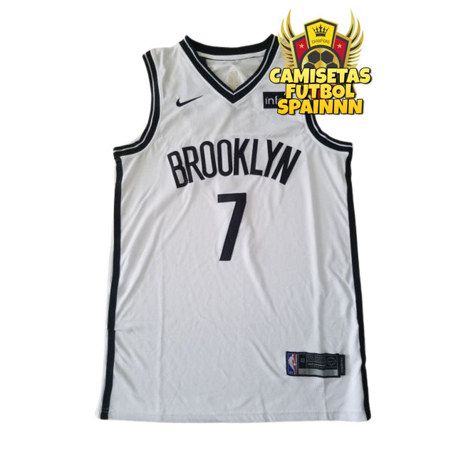Camiseta Kevin Durant 7 Brooklyn Nets Visitante