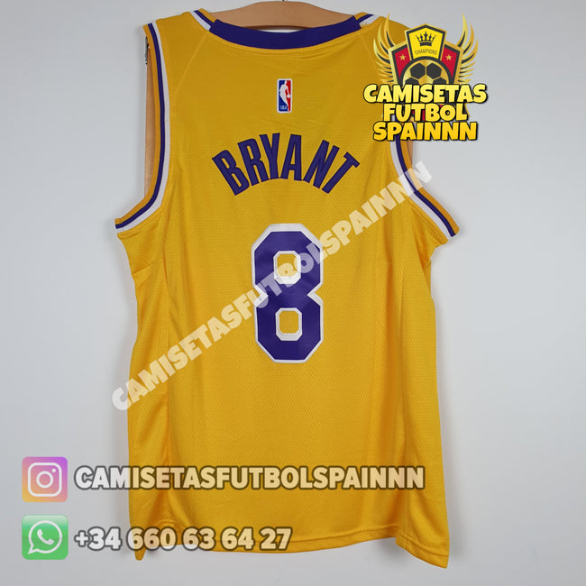 Camiseta Kobe Bryant 8 Los Angeles Lakers Local