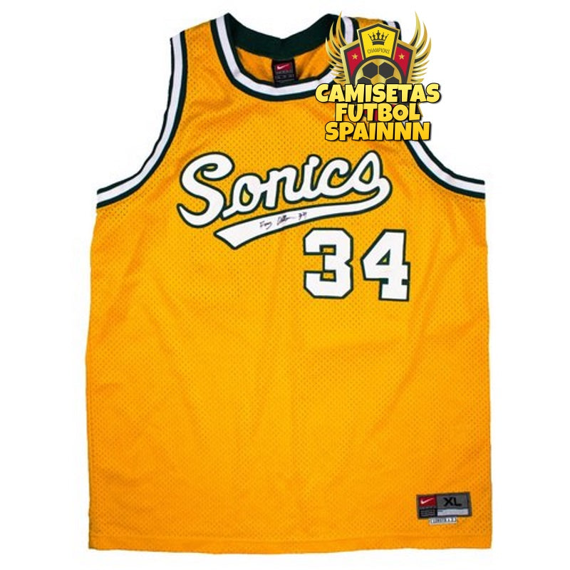 Camiseta Ray Allen 34 Seattle Sonics Local