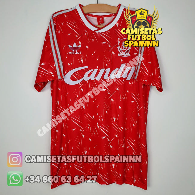 Camiseta Liverpool 1990-1991 Local