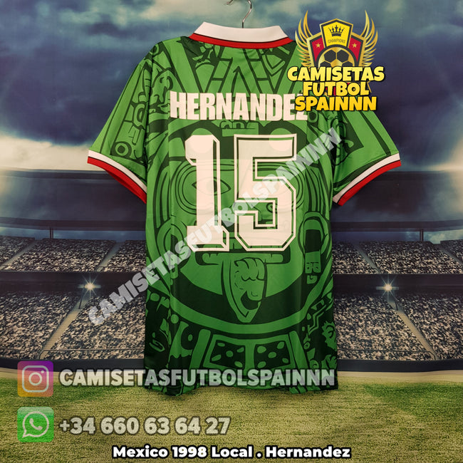 Camiseta Mexico 1998 Local