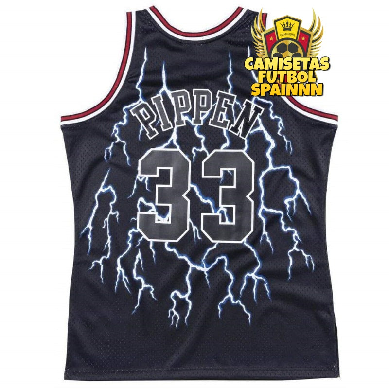 Camiseta Scottie Pippen 33 Chicago Bulls Classic Retro Finals