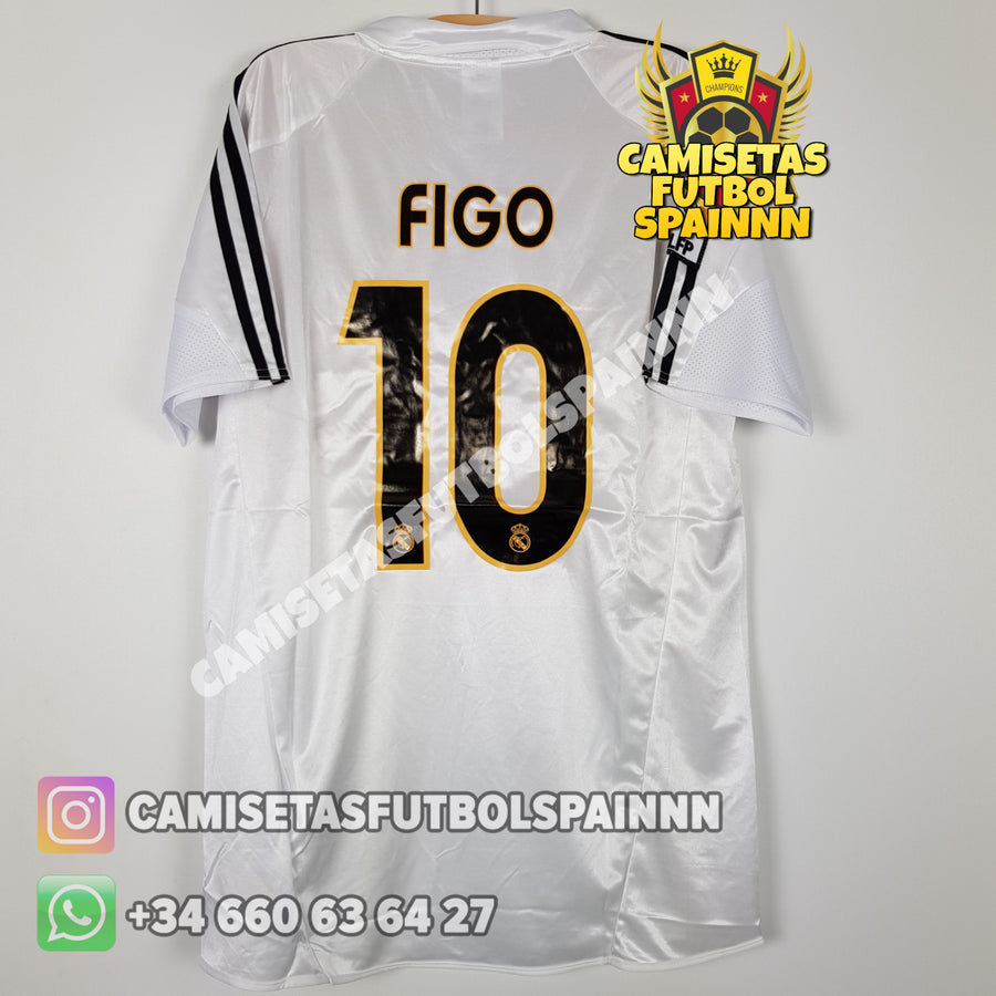 "Camiseta Real Madrid 2003-2004 Local ""Galacticos"""