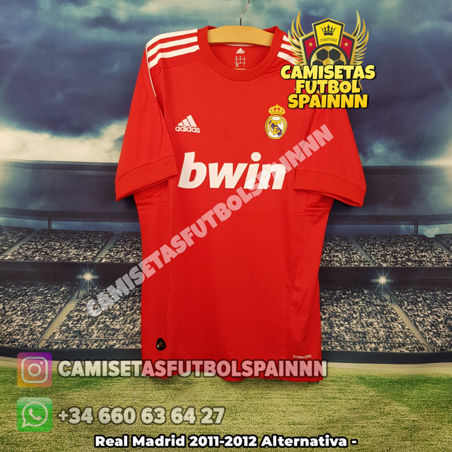 Camiseta Real Madrid 2011-2012 Alternativa