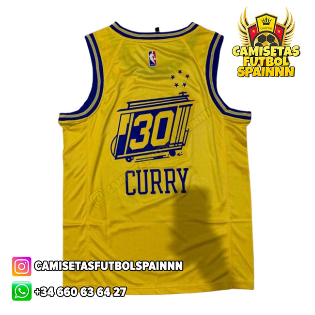 Camiseta Stephen Curry 30 Golden State Warriors The City