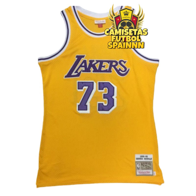 Camiseta Dennis Rodman 73 Los Angeles Lakers Local