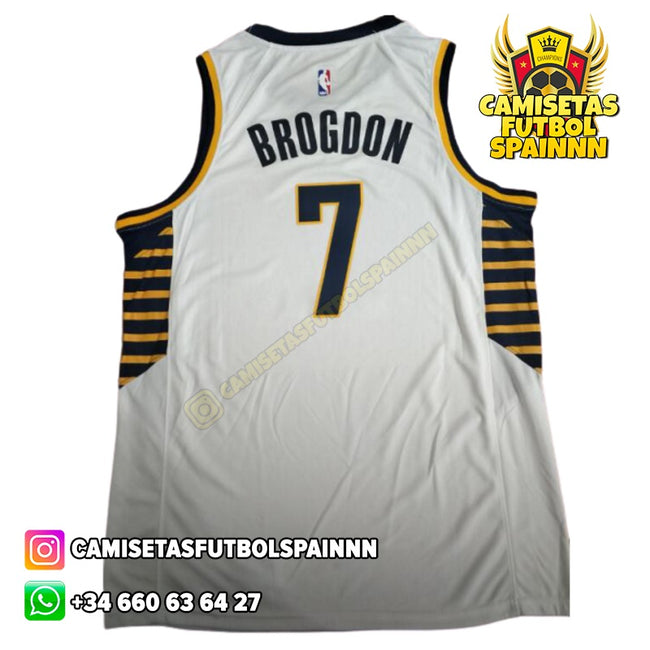 Camiseta Malcolm Brogdon 7 Indiana Pacers Alternativa