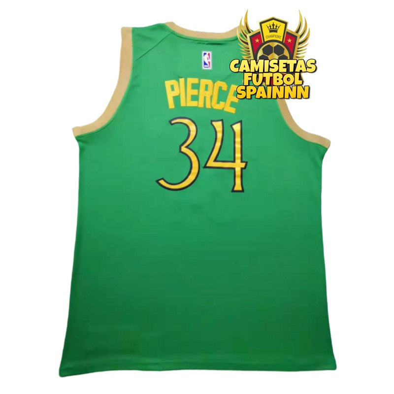 Camiseta Paul Pierce 34 Boston Celtics San Patricio