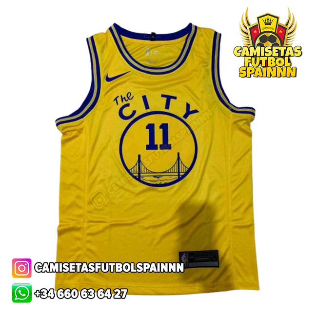 Camiseta Klay Thompson 11 Golden State Warriors The City