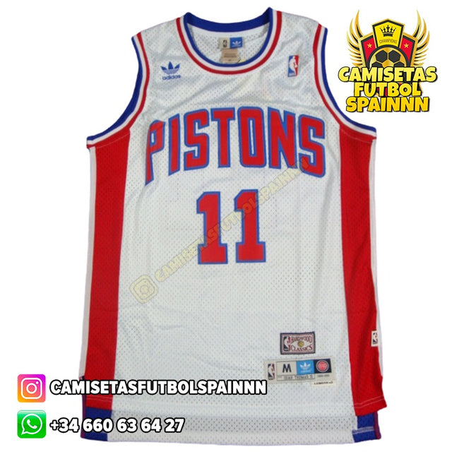 Camiseta Isiah Thomas 11 Detroit Pistons Classic Local