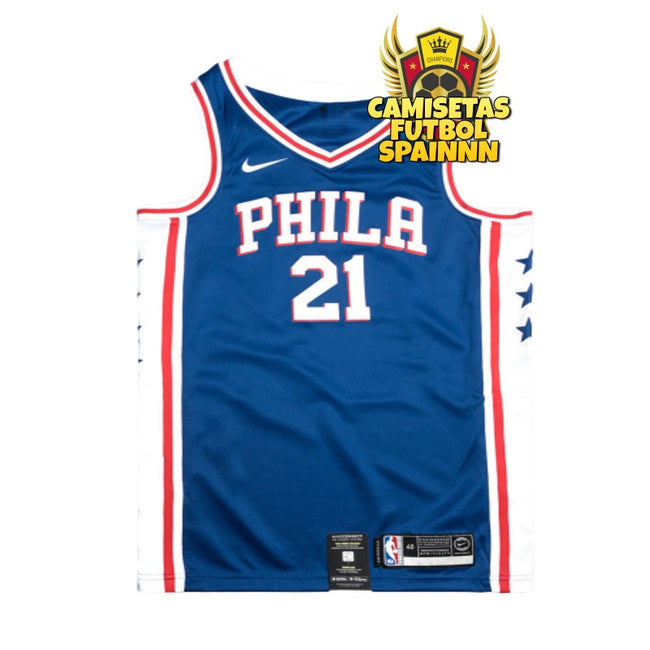 Camiseta Joel Embiid 21 Philadelphia 76ers Local