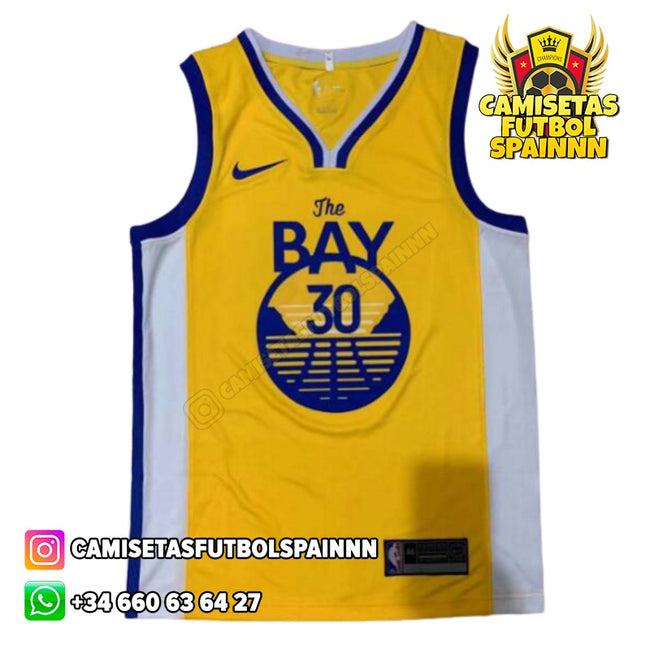 Camiseta Stephen Curry 30 Golden State Warriors The Bay