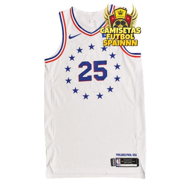 Camiseta Ben Simmons 25 Philadelphia 76ers Visitante City Edition