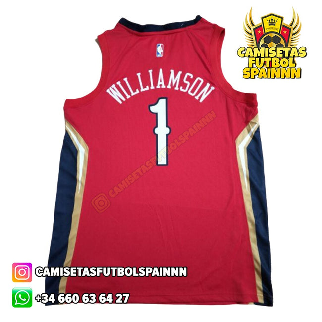 Camiseta Zion Williamson 1 New Orleans Pelicans Alternativa
