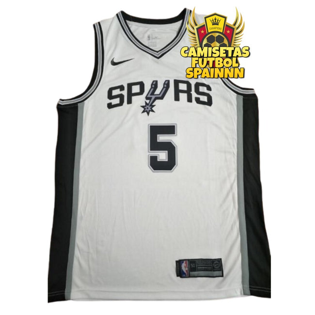 Camiseta Dejonte Murray 5 San Antonio Spurs Local
