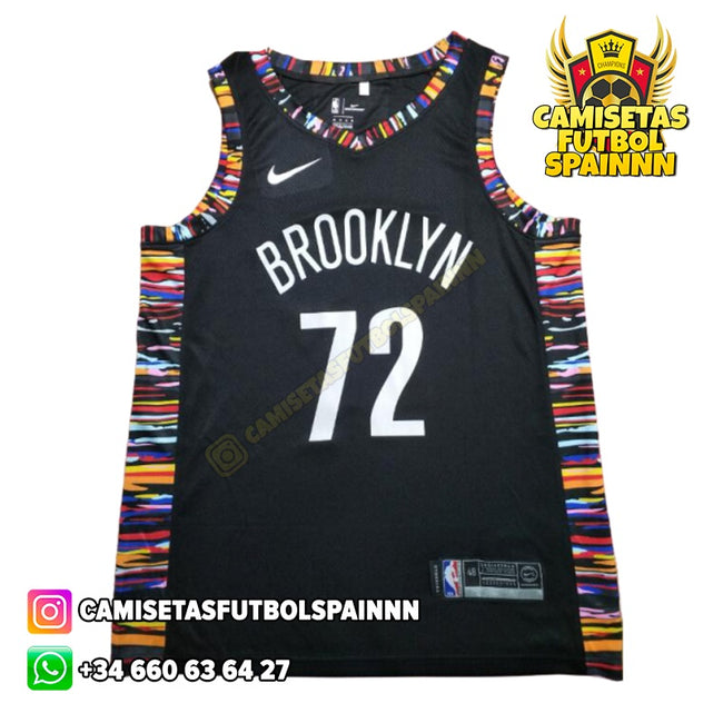Camiseta Notorius Biggie 72 Brooklyn Nets Local Bed Stuyvesant