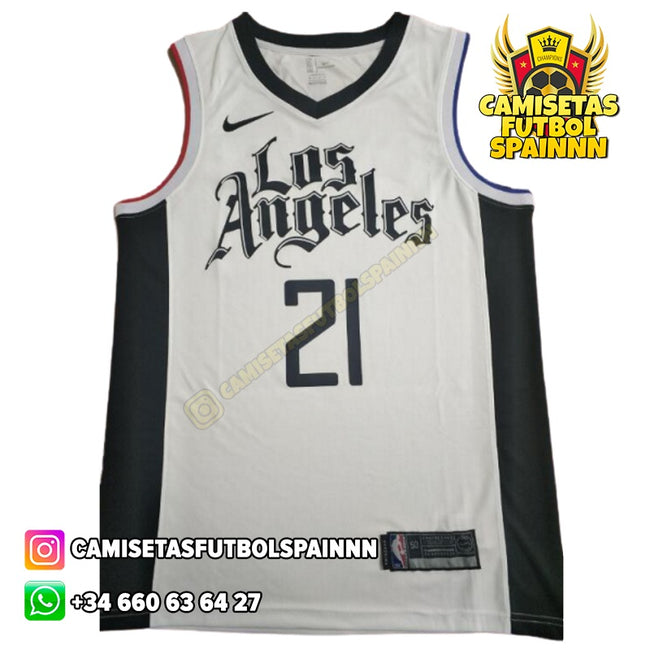 Camiseta Patrick Beverley 21 Los Angeles Clippers Local Worn City