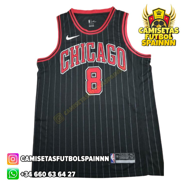 Camiseta Zach Lavine 8 Chicago Bulls Alternativa