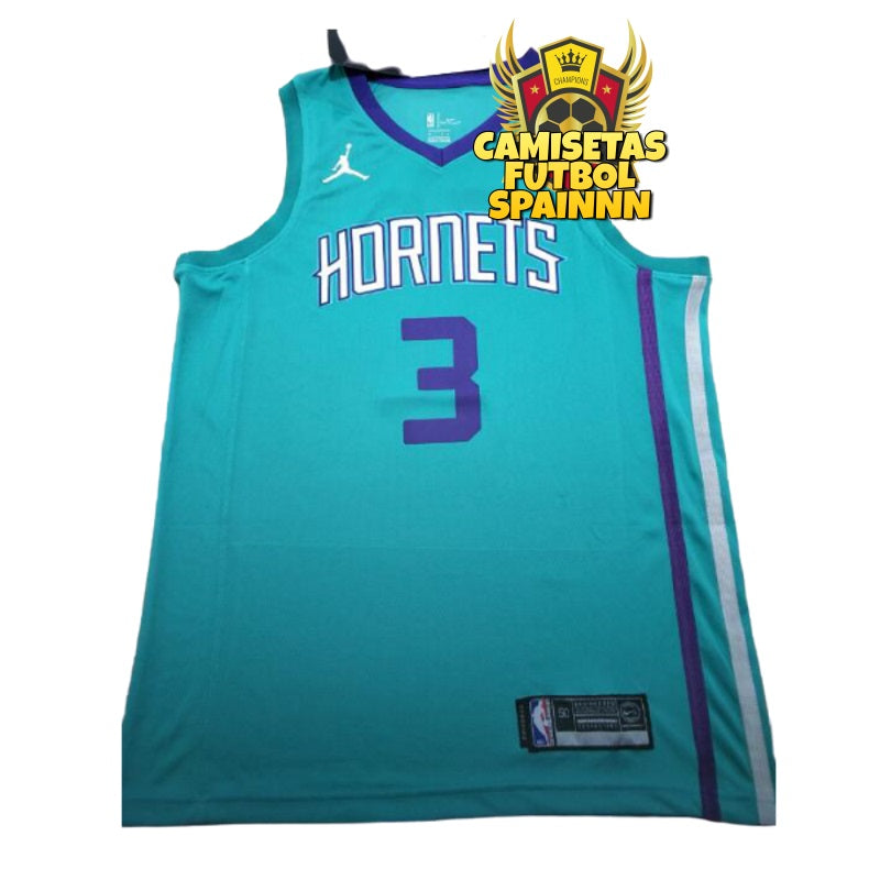 Camiseta Terry Rozier 3 Charlotte Hornets Local