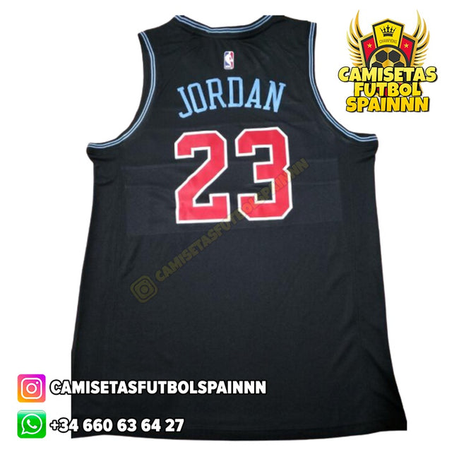 Camiseta Michael Jordan 23 Chicago Bulls Earned City
