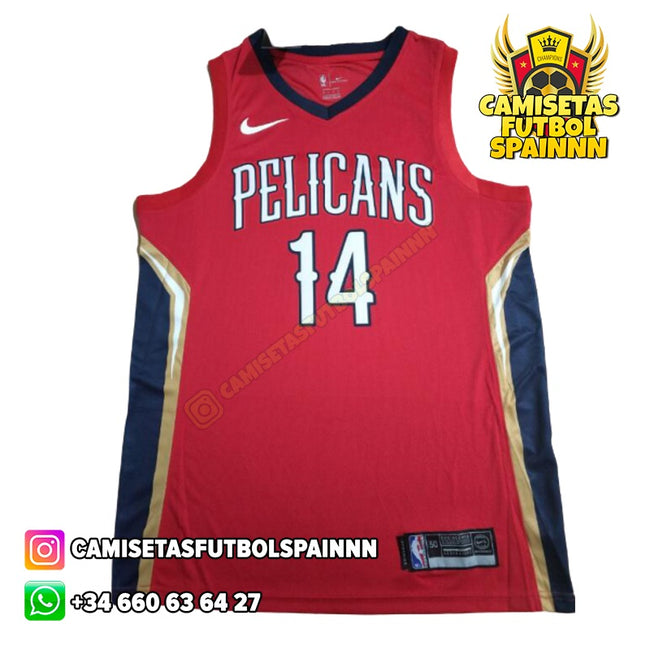 Camiseta Brandon Ingram 14 New Orleans Pelicans Alternativa